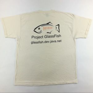 Java Sun Microsystems 'Project GlassFish' T-Shirt